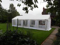 4m X 10m Gala Tent Marquee plus 4m X 6m canopy option