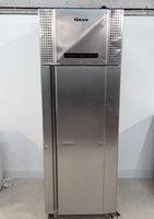 Tall single door stainless steel fridge