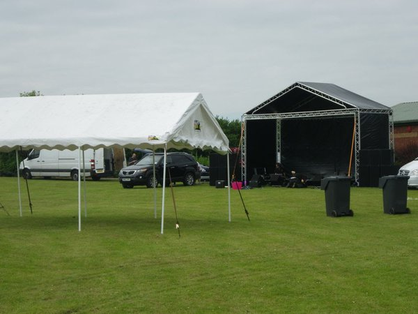 4m x 12m Marquee (Frame and Canopy) ideal event shelter/cover