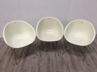 Ivory egg chair