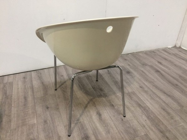 Egg bistro chair