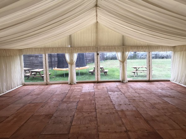 marquee hire business