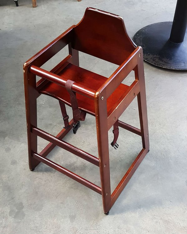 High chair for restaurants