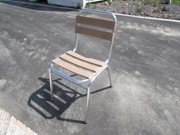 out door aluminium chairs for sale