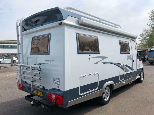 Secondhand 4 berth motorhome