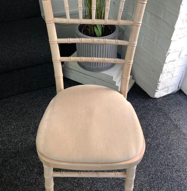 Used Limewash Chiavari Banqueting Chairs