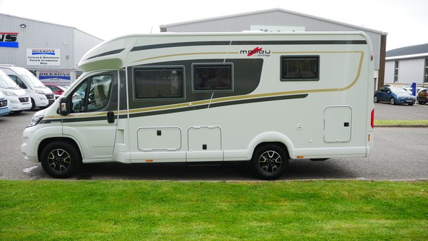 3 Berth Fiat motor home