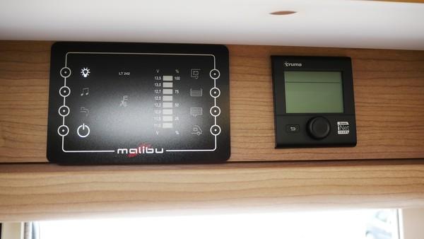 Malibu control panel