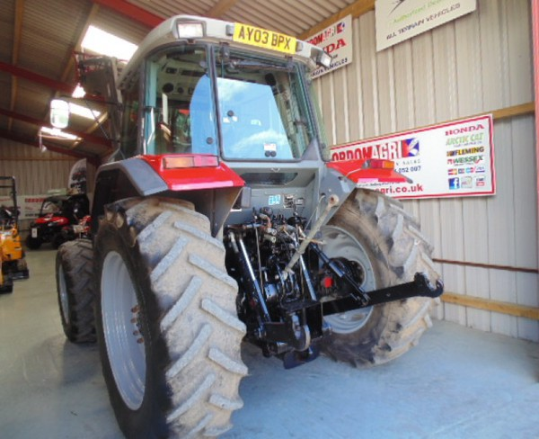 2003 MF loader tractor