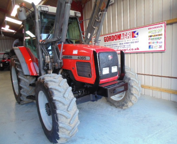 Second Hand MF loader tractor
