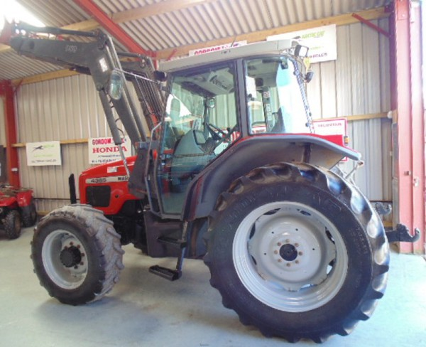 Used MF loader tractor