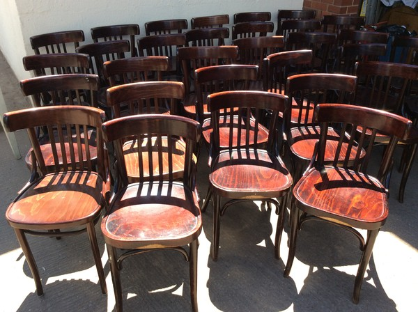 31x Bentwood Chairs (CODE DC 363a)