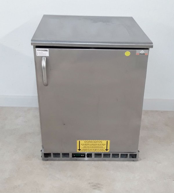Used Gamko MXF38110 Stainless Steel Under Counter Freezer