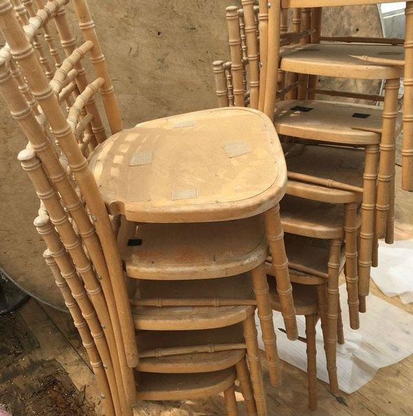Chivari Natural Banqueting Chair Spares