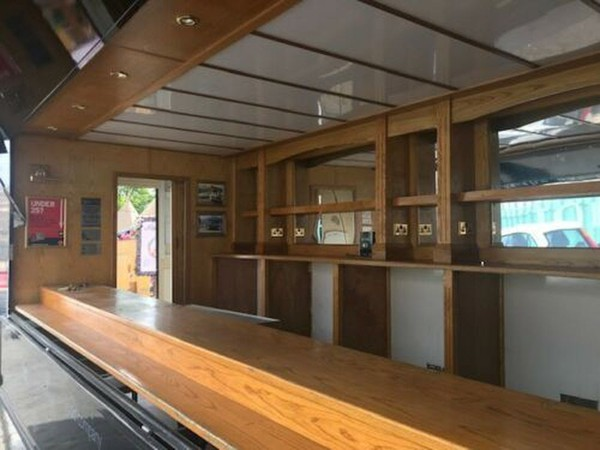 Mobile bar trailer for sale