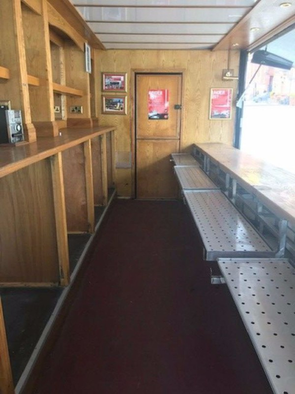 Used bar trailer