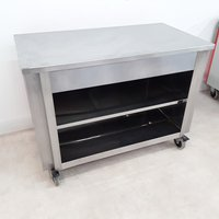 Used Moffat  Stainless Steel Table Trolley(8888)