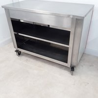 Used Moffat  Stainless Steel Table Trolley(8890)