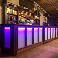 Modern Colour changing bar