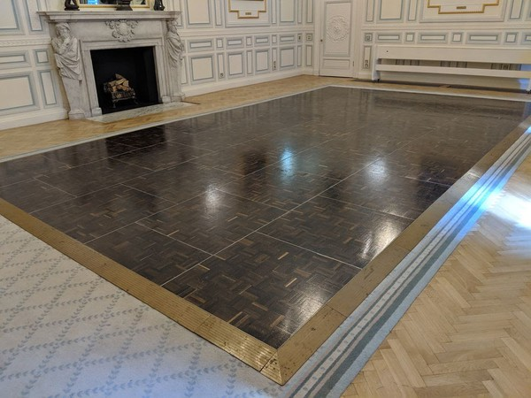 Parquet Dancefloor Florlock 15ft x 27ft Smoked Oak
