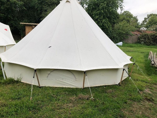 Used Bell tents
