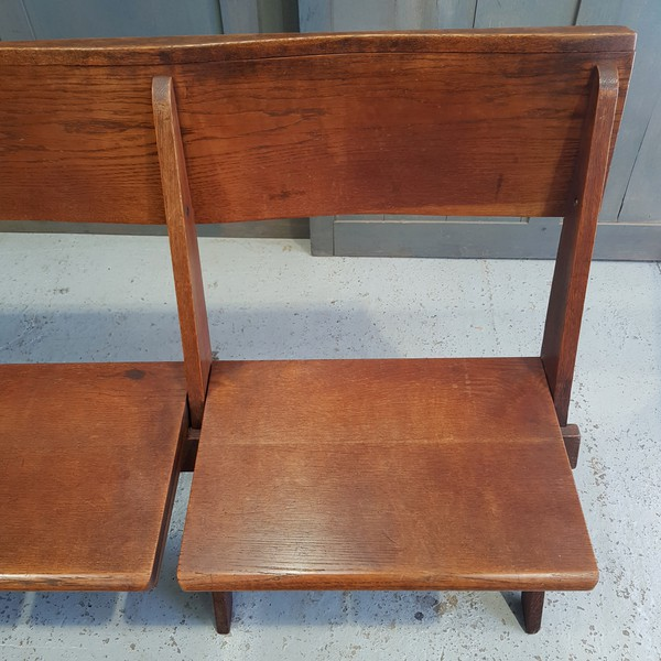 Vintage church bench - folding