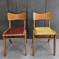 1960's Vintage stacking chairs
