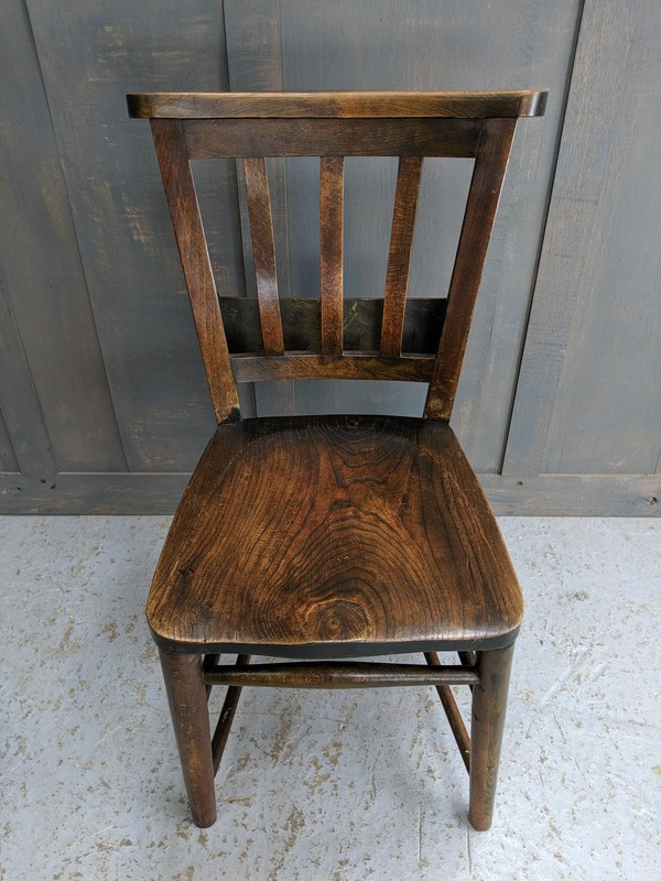 1930's church chair