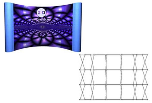 Graphics display stand