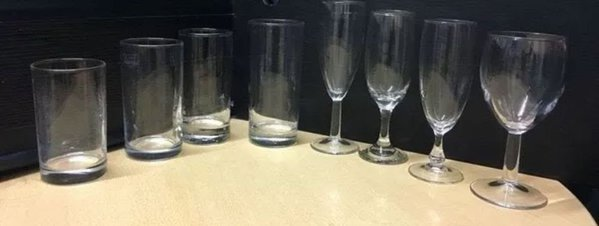 Restaurant glassware for sale
