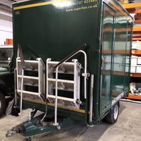 1+1 Self Contained Used Toilet Trailer