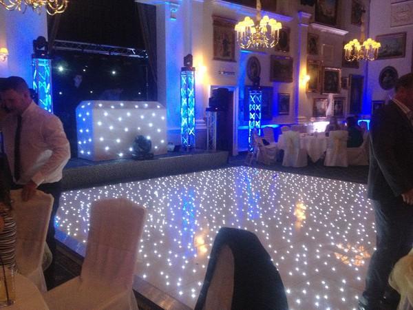 16 x 18 White LED Dancefloor