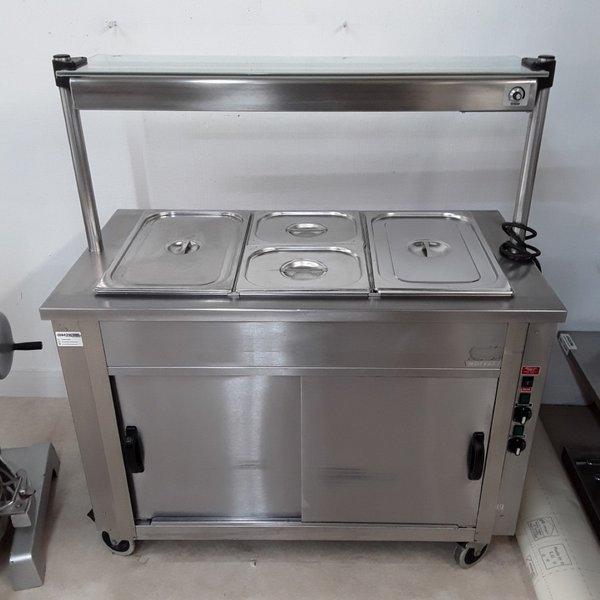 Used Moffat  Hot Cupboard Heated Gantry Trolley(8902)
