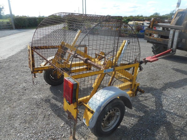 Cable drum trailer - used