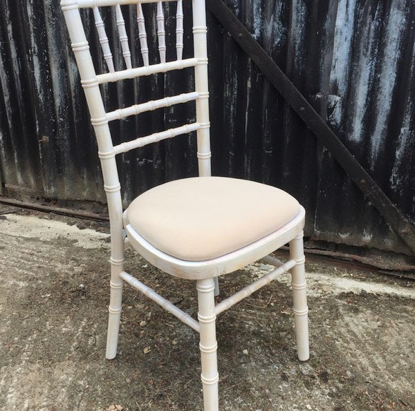 112 Brand New Top Quality Limewash Chiavari Chairs - No Vat - £24.00 each
