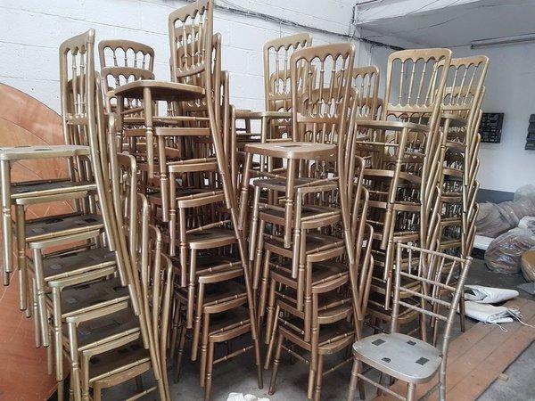 Cheltenham banqueting chairs