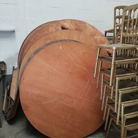 Six foot round tables - North Yorkshire