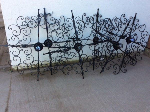 6x Hanging Metalwork Lights (CODE L 143)