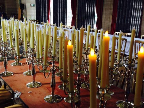 50 Silver candelabra