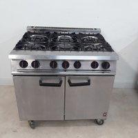 Used Falcon Dominator G2101 OT 6 Burner Range Cooker(8960)