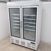 Double display fridge