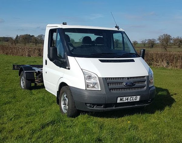 2014 Ford Transit AWD chassis cab,pickup 125bhp 4x4