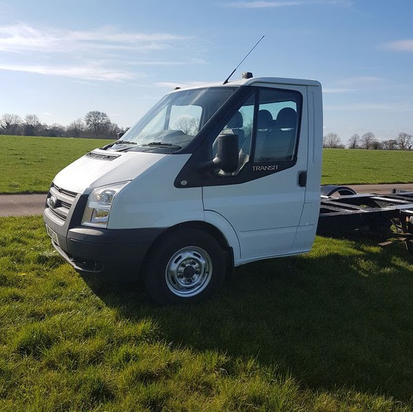 Buy 2014 Ford Transit AWD chassis cab,pickup 125bhp 4x4