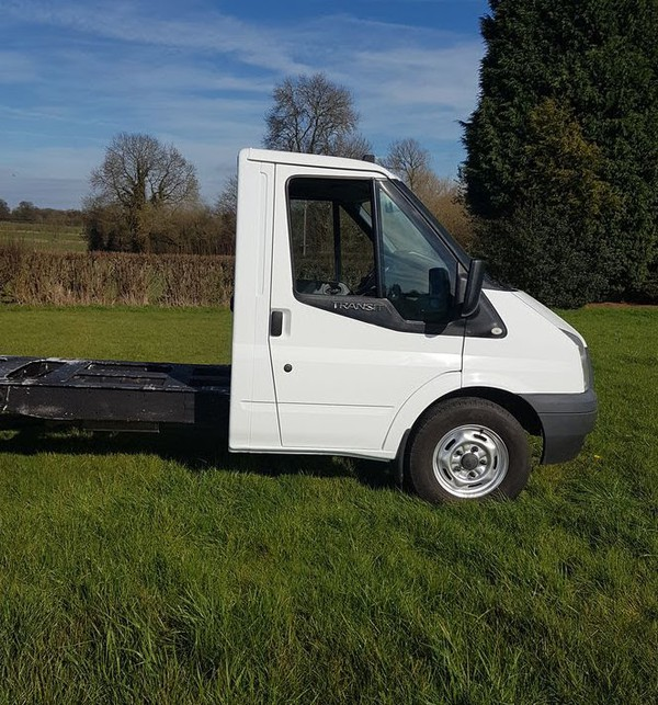 Secondhand 2014 Ford Transit AWD chassis cab,pickup 125bhp 4x4