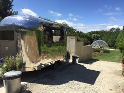 Polished Aluminium Airstream Style Catering Trailer