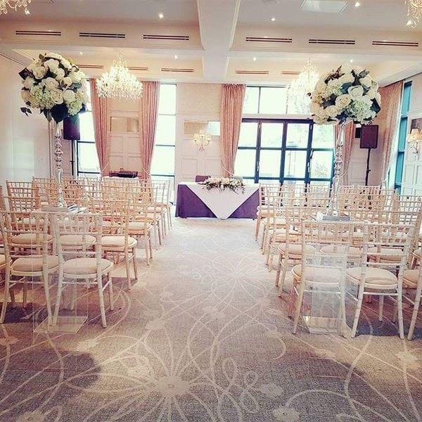 Chivari or chiavari banqueting chairs for sale