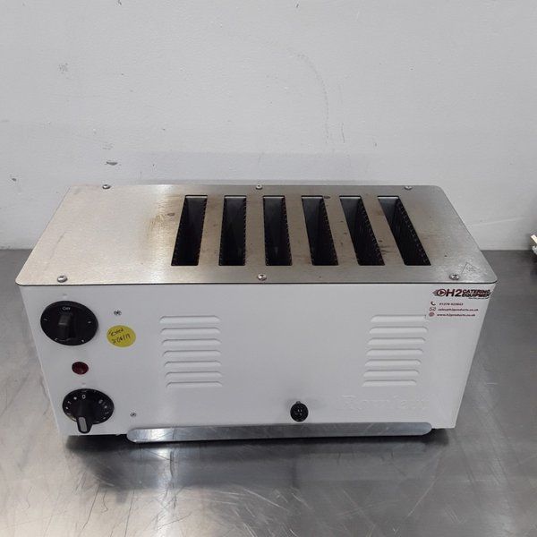 six slot commercial toaster