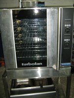 Blue Seal G32D4 Gas Turbofan Oven