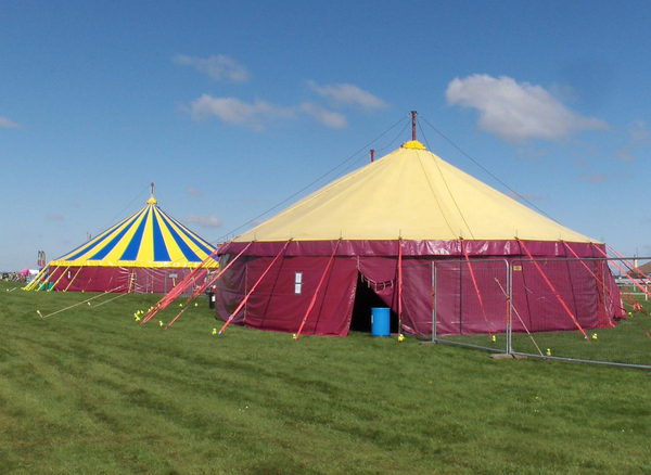 Big top festival hire business
