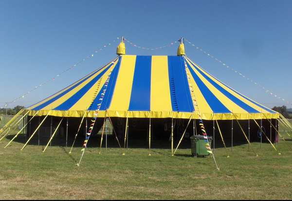 Big Top hire business for sale